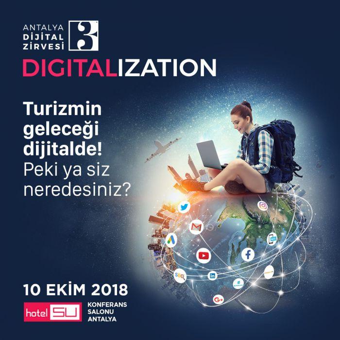 3. Antalya Dijital Zirvesi İçin Geri Sayım Başladı!