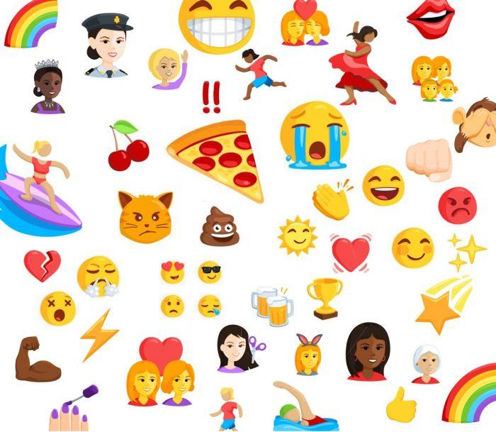 72 Yeni Emoji Yolda!