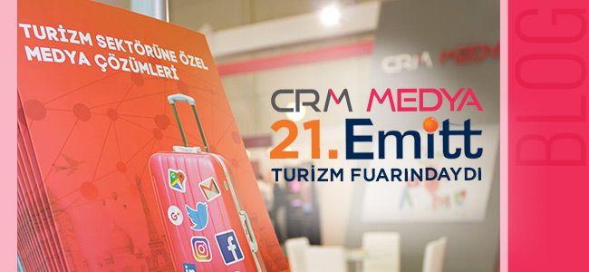 CRM Medya 21.EMITT Turizm Fuarındaydı