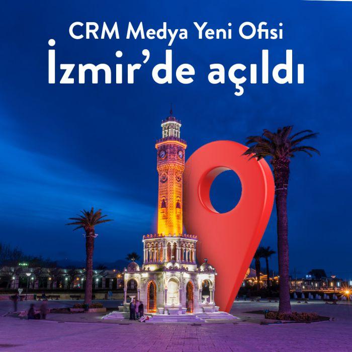 CRM Medya 4. Ofisini İzmir'de Açtı!
