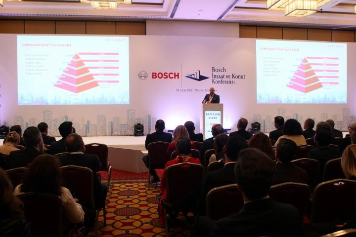 6. Bosch İnşaat ve Konut Konferansı Ramazan Becer Konuşması