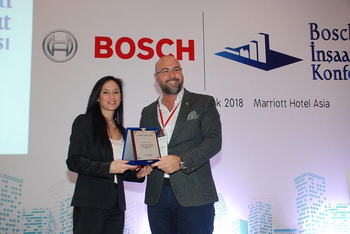 6. Bosch İnşaat ve Konut Konferansında Ramazan Becer ilgi gördü