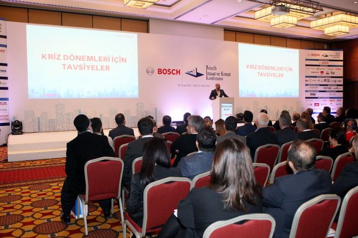 6. Bosch İnşaat ve Konut Konferansında Ramazan Becer Konuşması ilgi çekti