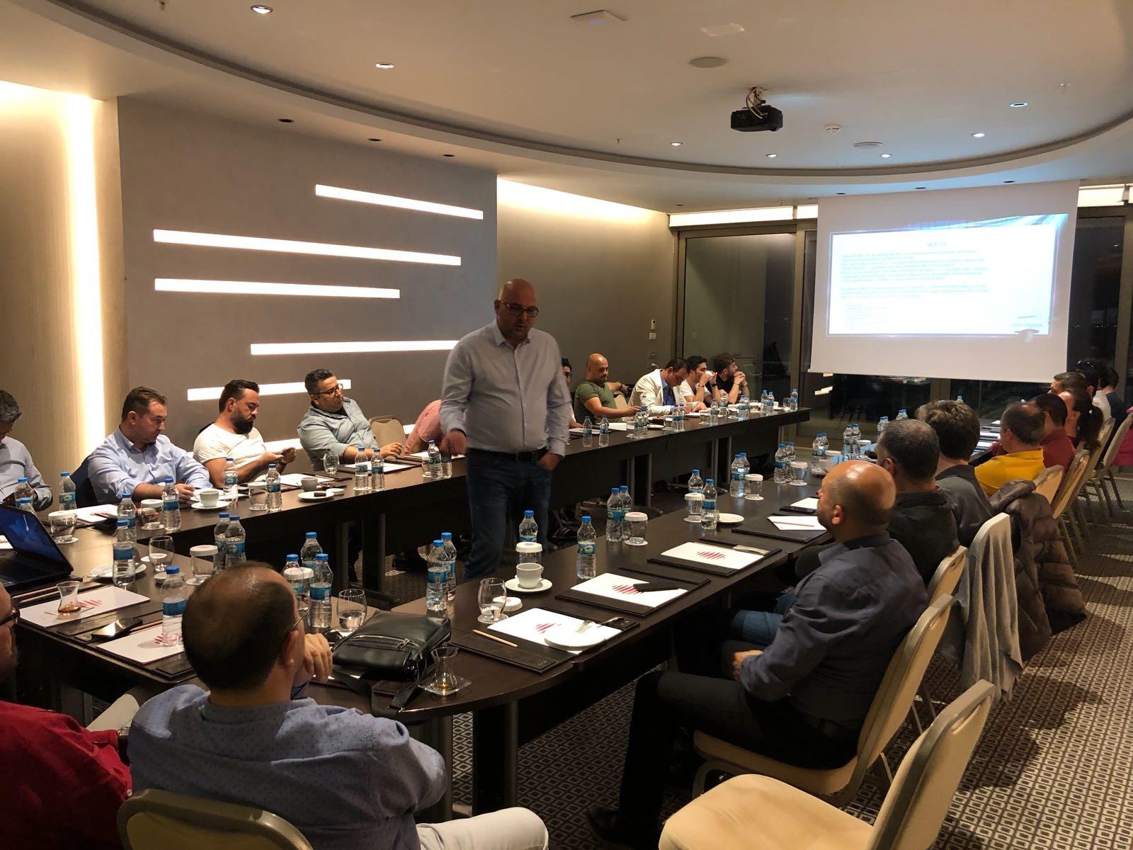Ömer Güran'ın, Antalya Bilişim İşverenleri üyelerine yönelik bilgilendirme toplantısı yoğun ilgi gördü