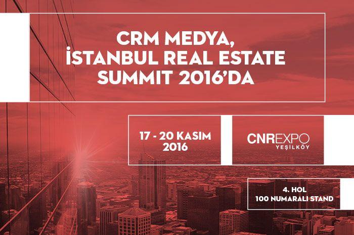 CRM Medya, Dijital Çözümleri ile CNR Emlak Fuarında!
