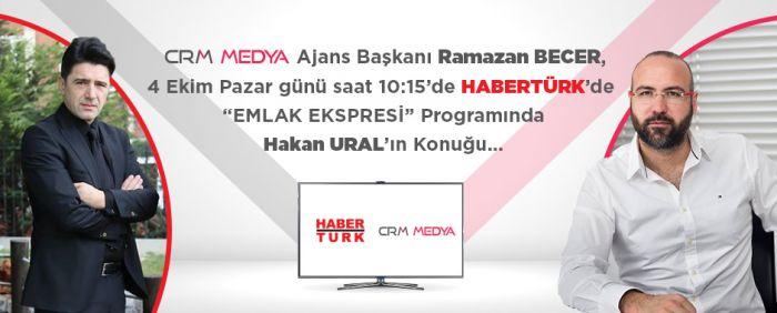Crm Medya, Haberturk Tv'ye Konuk Oluyor!