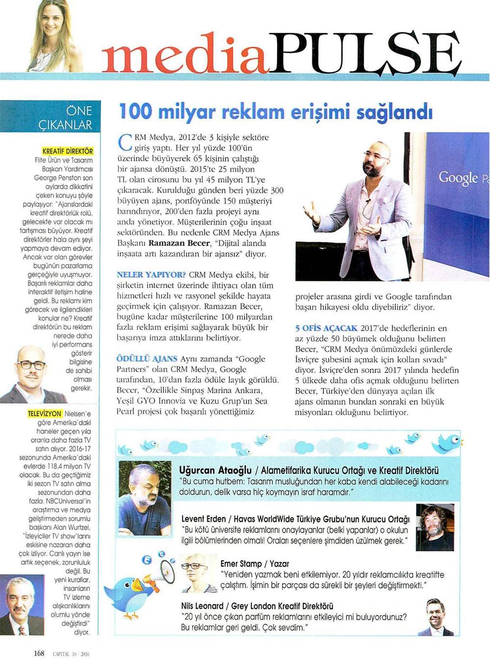 """mediapluse""""100 milyar reklam erişimi sağlandı"""