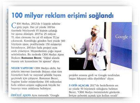 CRM Medya, yurtdışına açılıyor!