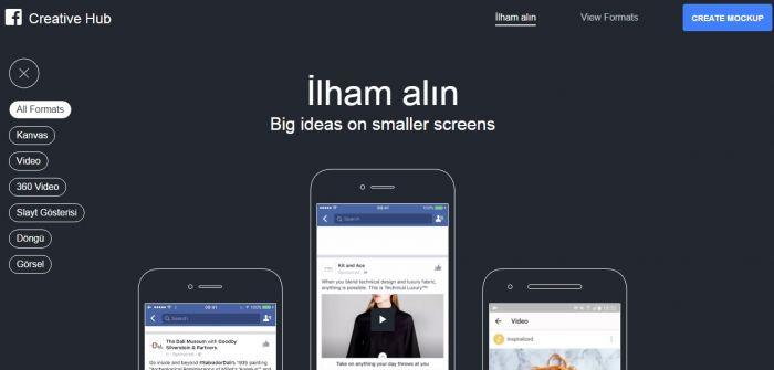 Facebook Creative Hub'ı Kullanıma Sundu