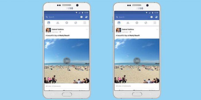 Facebook dan 360 Derece Fotoğraflar