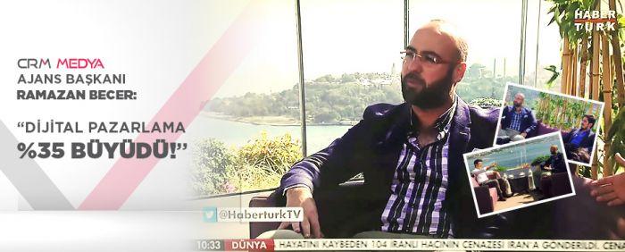 """RAMAZAN BECER: """"DİJİTAL PAZARLAMA %35 BÜYÜDÜ!"""""""